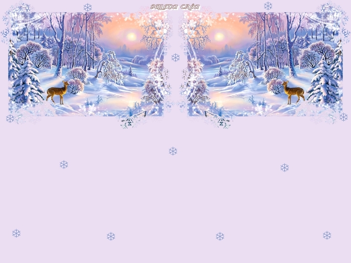 **Paysage hivernal 2**Papiers