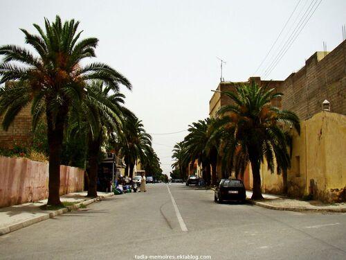 A travers les rues de kasba tadla