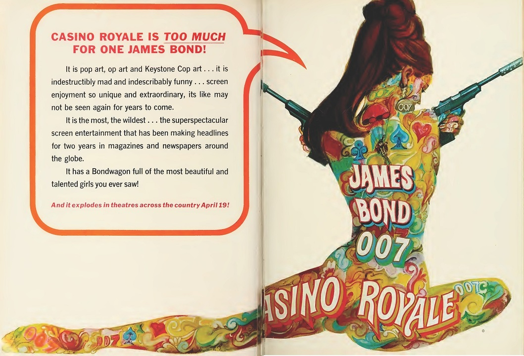 CASINO ROYALE BOX OFFICE USA 1967