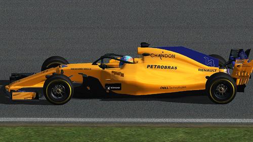 McLaren-Renault - MCL33 / Fernando Alonso