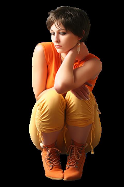Femmes en Orange Série 7
