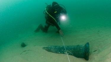 Une épave retrouvée à Cascais au Portugal ...