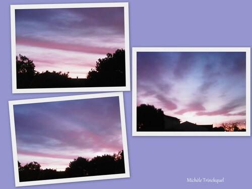 Le ciel au matin du 21 août....