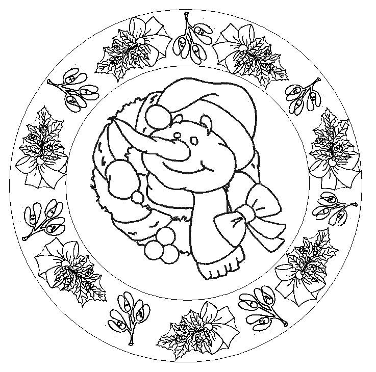 Mandalas de Noël - coraliecaramel