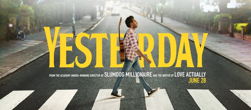 Yesterday - Danny Boyle - OST cover