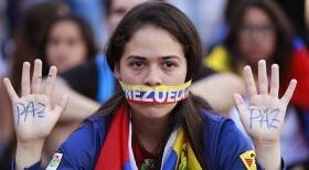 UNE MANIFESTATION AU VÉNÉZUELA