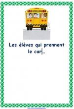 affichage bus car
