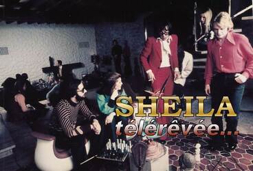09 février 1973 : Sheila chez Cloclo !
