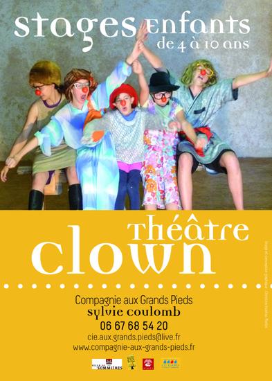 Stages clown enfants vacances Toussaint