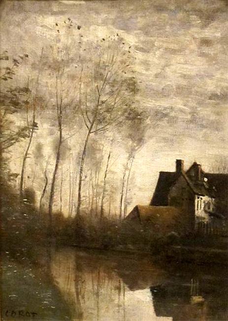 Etangs et maisons
