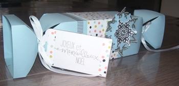 Boîte à bonbons noël 3