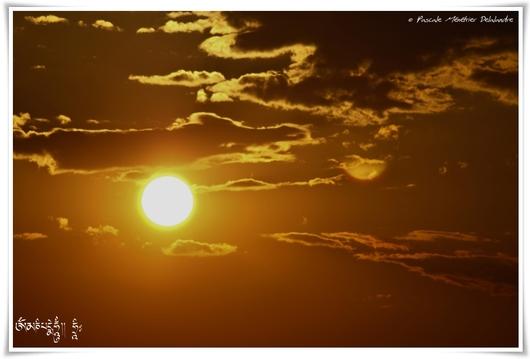 Jeu avec le soleil
