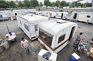campement de rom