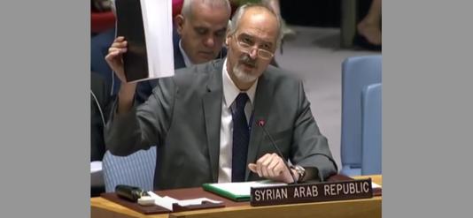 Bachar al-Jaafari : Celui qui s'est battu contre le terrorisme à votre place ne cèdera pas à vos menaces…