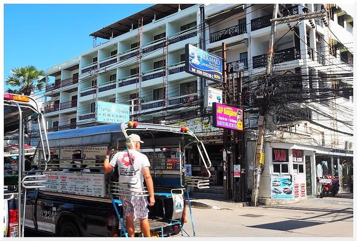 Rues de Jomtien. Thaïlande.