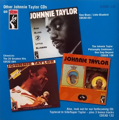 "Johnnie Taylor : Album "" Who's Making Love... "" Stax Records STS 2005 [ US ]"