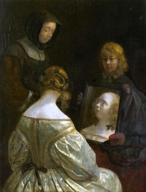 Vermeer et les maîtres de la peinture de genre au Louvre