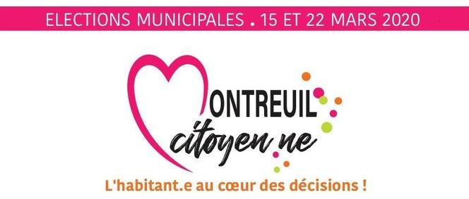 La liste « Montreuil Citoyen.ne » et son programme