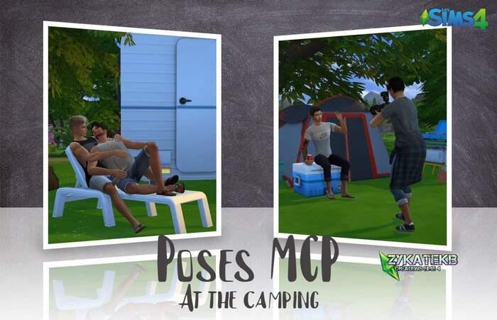 Poses MCP - At the camping