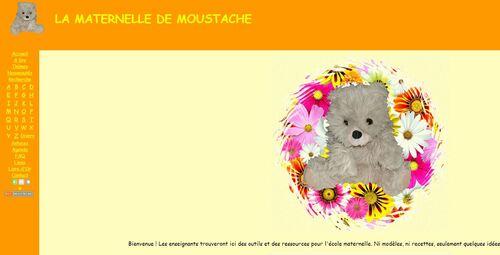 La maternelle de Moustache