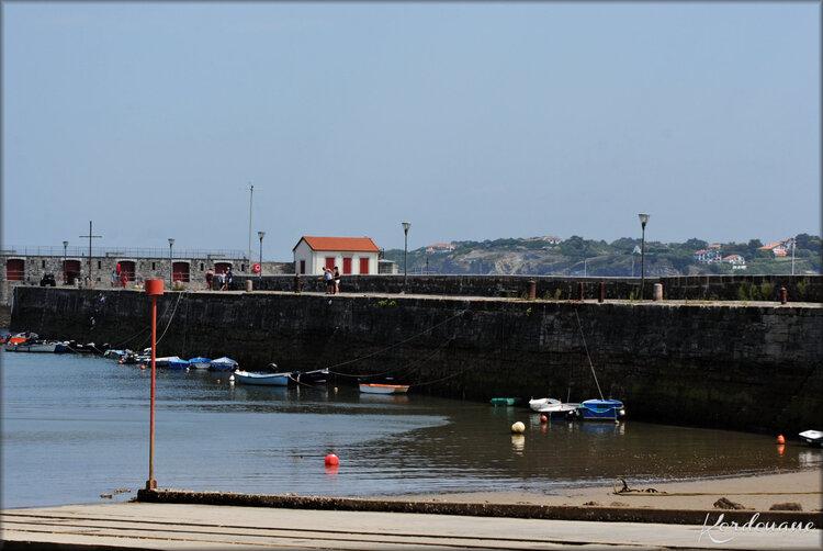 Photos du port de plaisance de Socoa-Ciboure