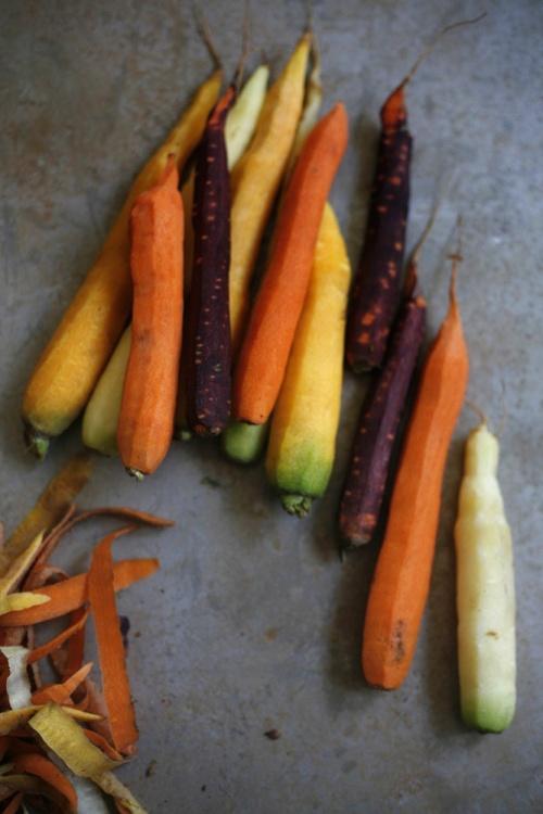 Flan aux épluchures de carottes et à l'anis !
