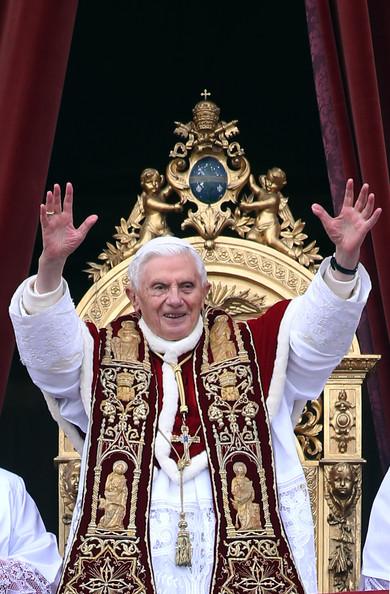 Bénédiction Urbi et Orbi de sa saintté Benoît XVI
