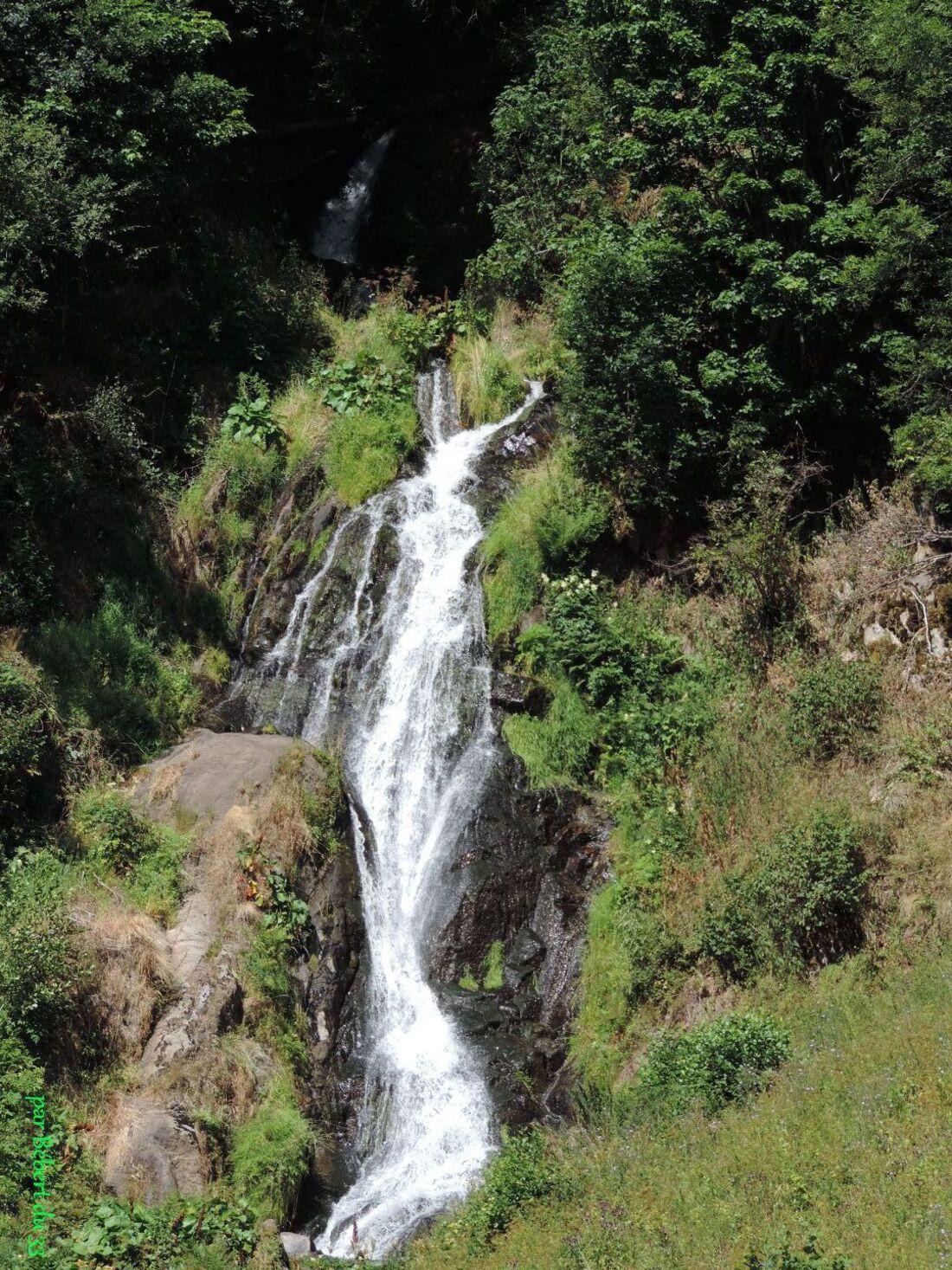 la cascade de Voissières dept 63
