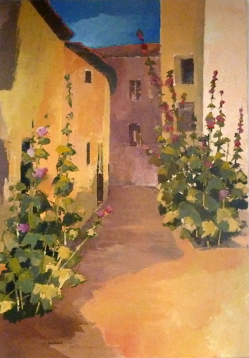 Peinture de : Marie ECOCHARD