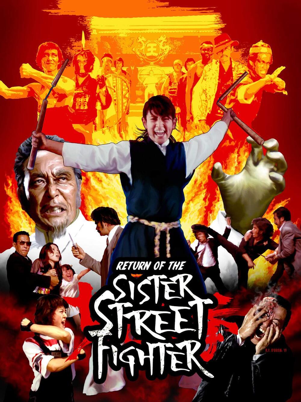 Kaette Kita Onna Hissatsu Ken / Return of the Sister Street Fighter (1975)