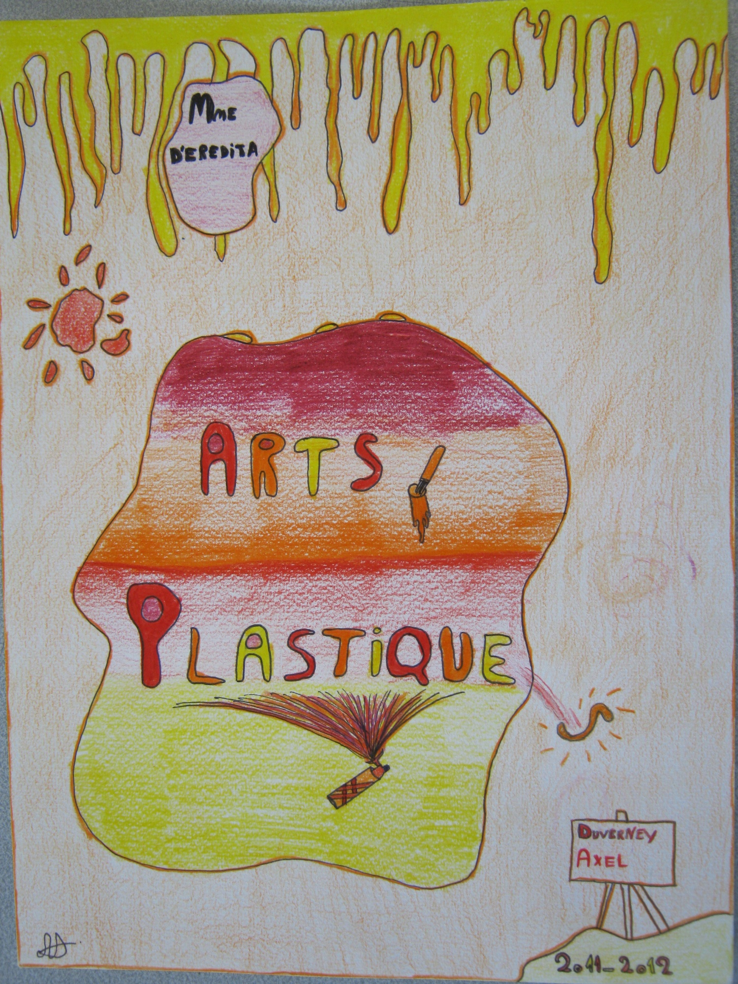 art plastique college 5eme