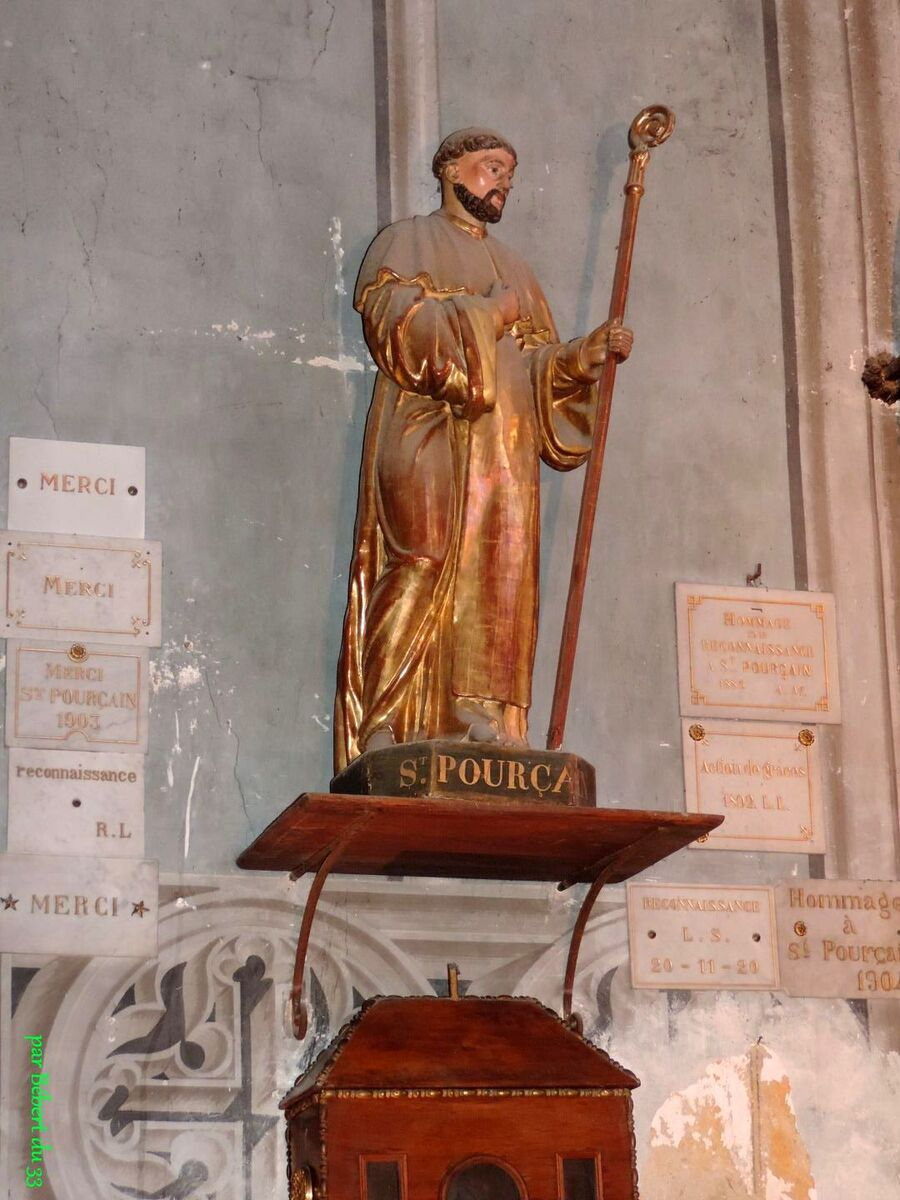 l'église Sainte Croix - St Pourçain