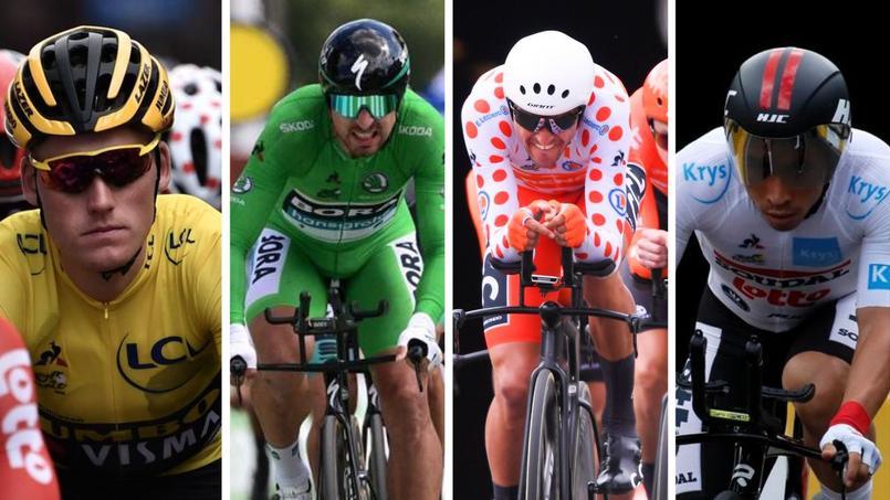 Tour de France les couleurs des maillots