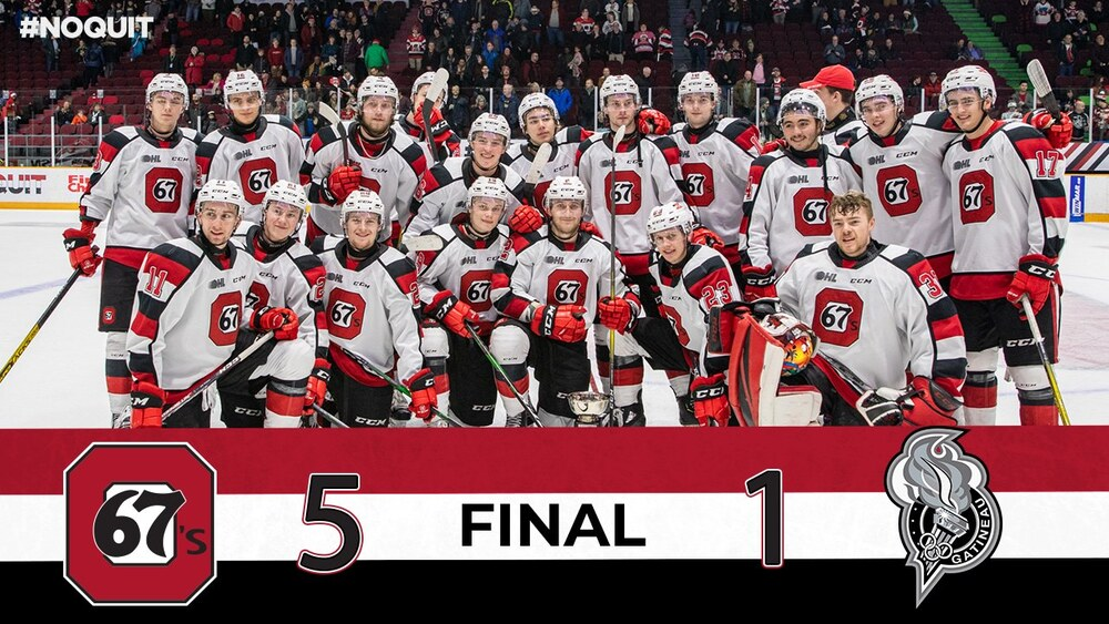 Battle of the Ottawa River - Part two: Gatineau Olympiques at Ottawa 67's on December 8th 2019