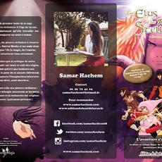 Flyer Présentations des Livres | Illustration : Sébastien Petitjean | Création : Romu Magic
