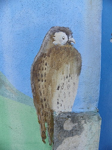 Mur peint Chazey-Bons