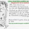 CROIX FRONTIERE NUMERO 364