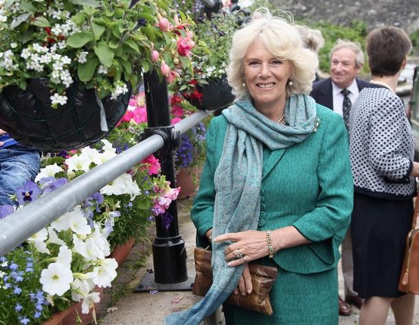 Camilla à Brecon