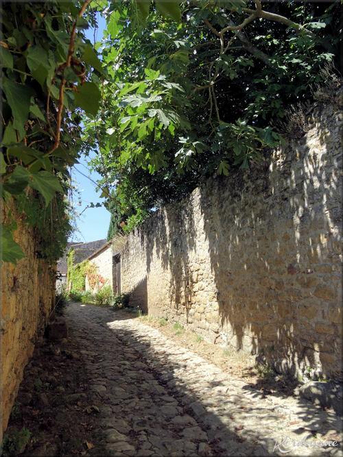 Photos des ruelles de Saint Macaire - Gironde