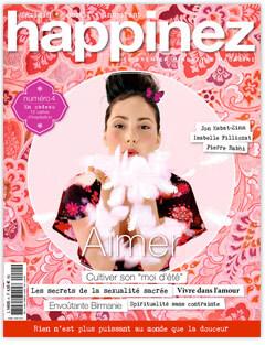 Happinez magazine n°3: suivre son coeur.