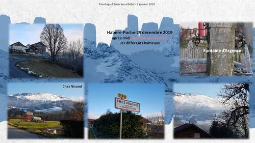 Habère-Poche et ses hameaux