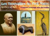 Arts et sculpture: sculpture, moulage, arts décoratifs