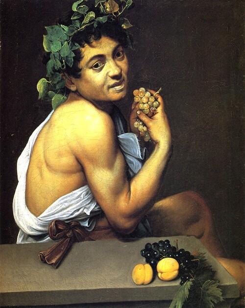 """7-Caravaggio (dit """"Caravage"""") / Vers la peinture de genre."""