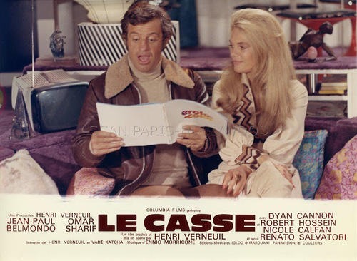 LE CASSE - PHOTOS EXPLOITATION CINEMA FRANCE