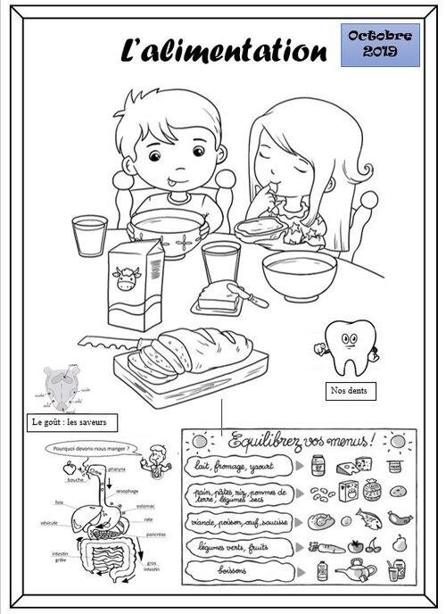 Ateliers scientifiques: alimentation