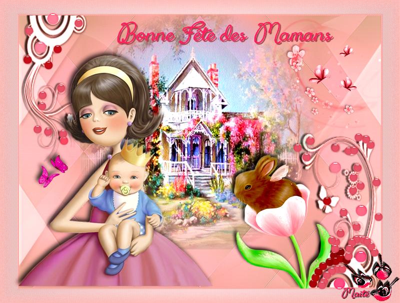 Belle et douce Fête des Mamans..