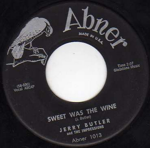 1958 : Singles SP Falcon / Abner Records 1013 et Vee Jay Records 280 [ US ]