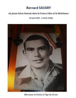 Bernard Savary (B.I.M), de la france Libre à la Résistance