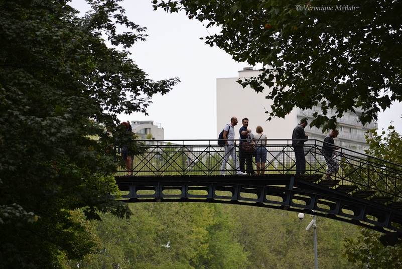 La photo du weekend : Première passerelle du Canal Saint-Martin