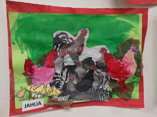 le poulailler inspiré de Jakuchu chez N.